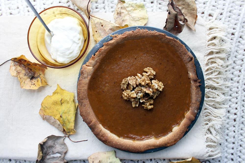 Pumpkin pie: la ricetta originale americana della torta di zucca