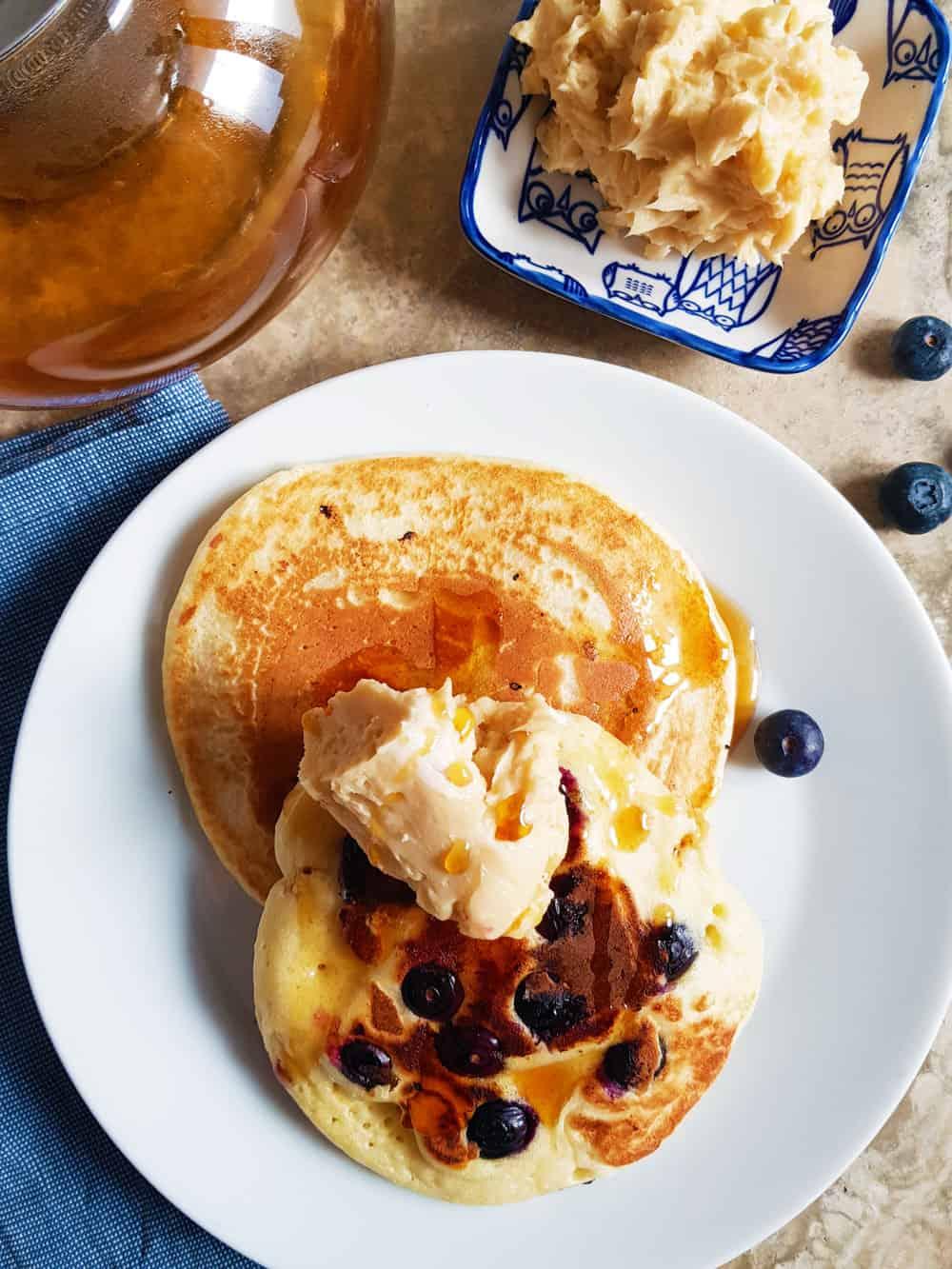 pancake ricetta americana