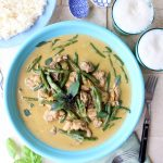 Curry verde Thai