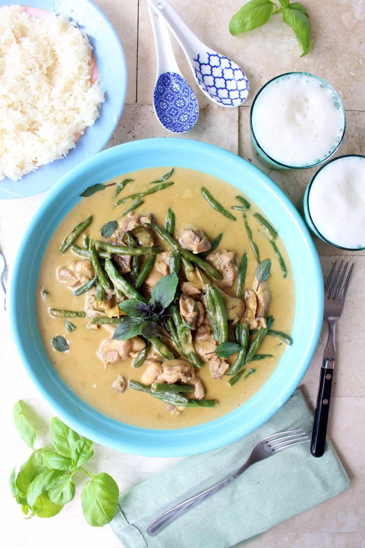 Curry verde Thai
