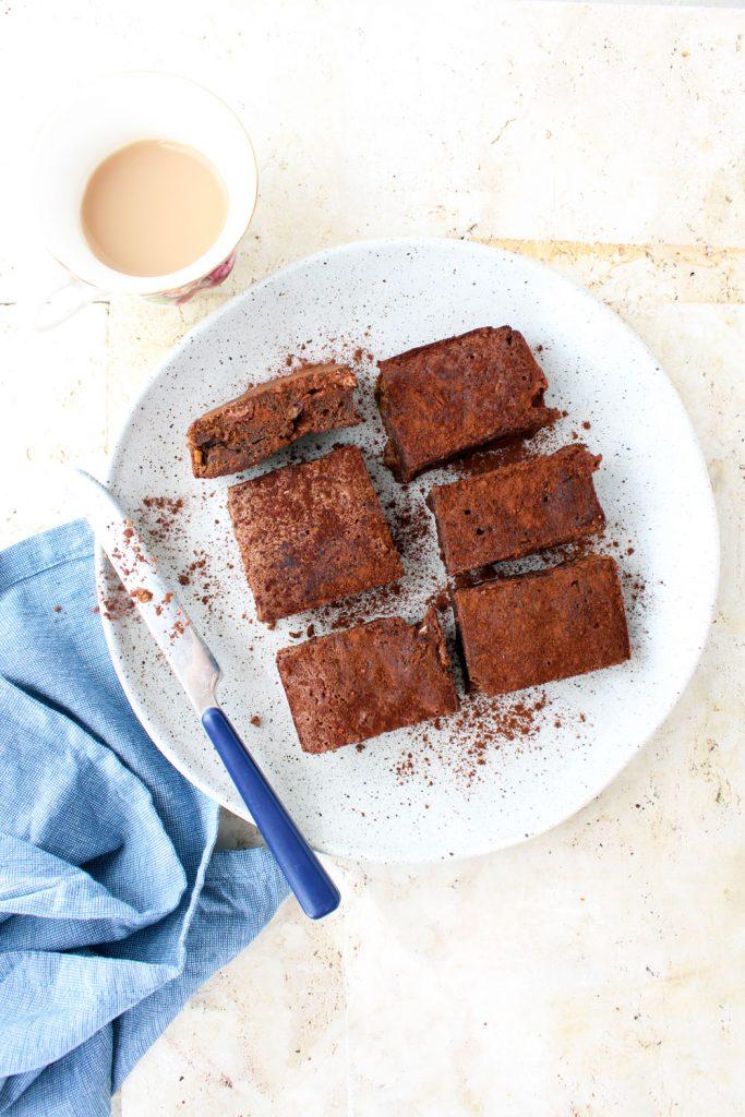 brownies al cacao