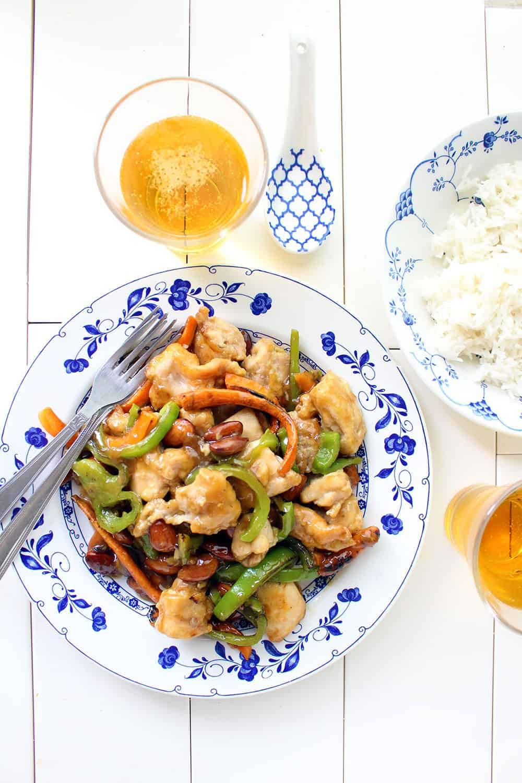Pollo alla Mandorle Ricetta Cinese Originale Facile e Veloce f71a53644376