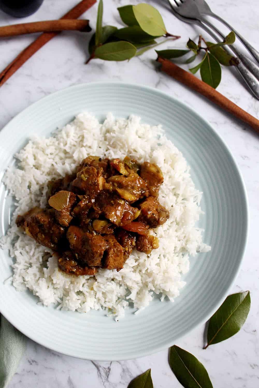 maiale al curry