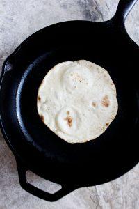 tortillas con farina di mais
