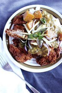 curry giapponese con pollo