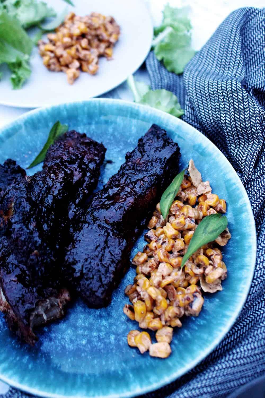barbecue ribs americane