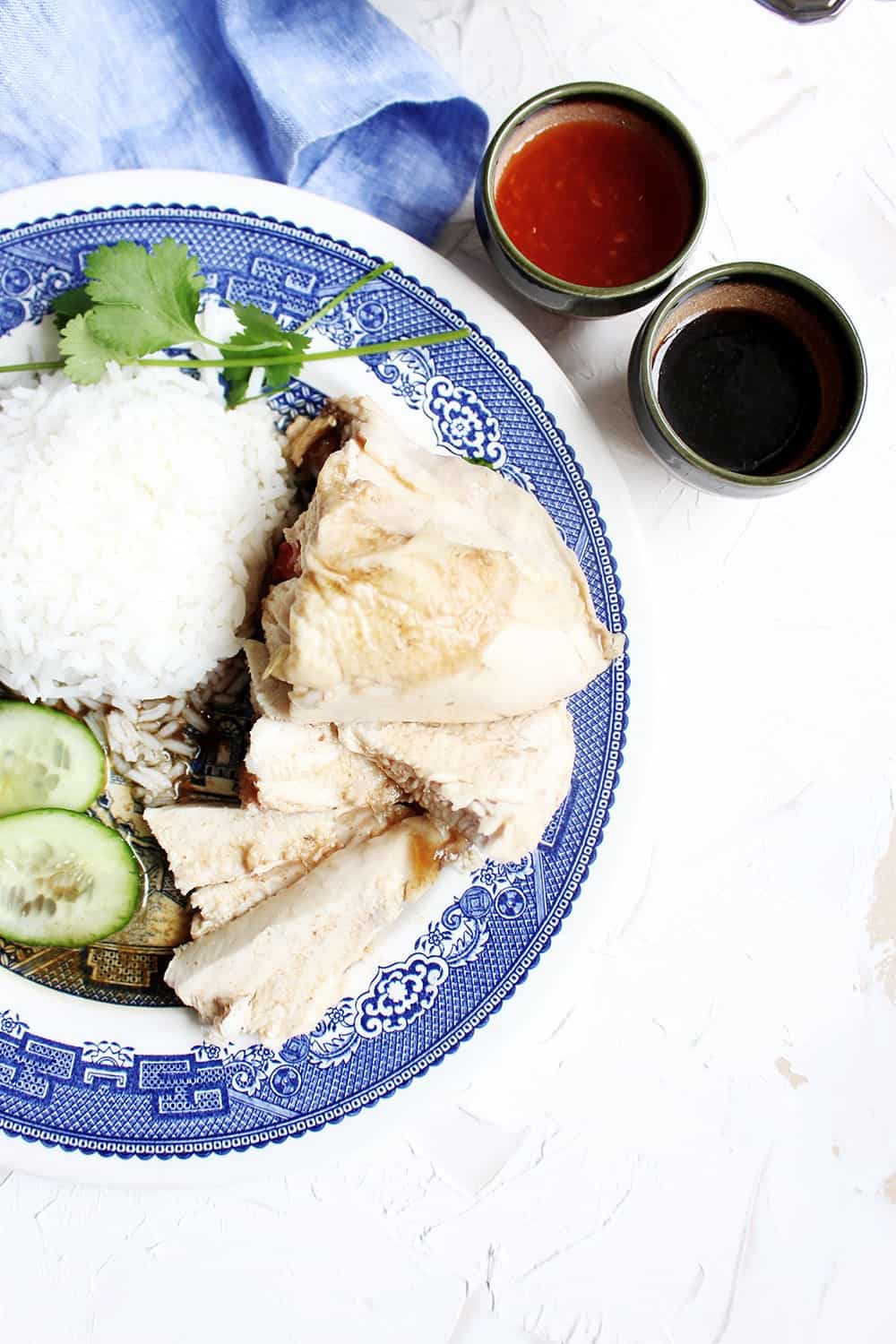 Hainanese Chicken Rice